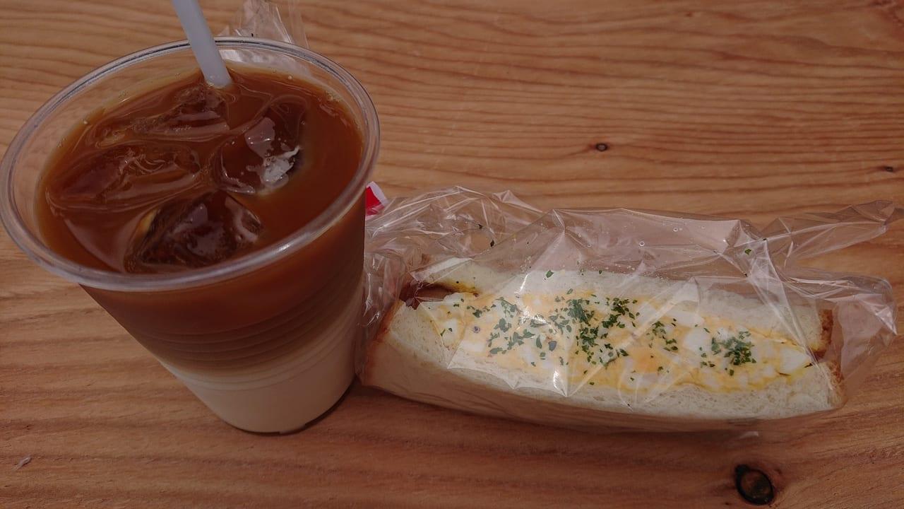 THE SUN.COFFEEのサンドイッチ